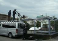 朝日放送のローカル番組「ココイロ」の撮影