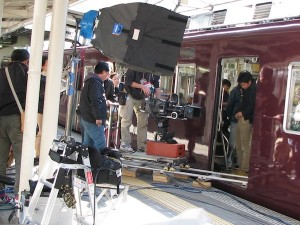 映画阪急電車 片道15分の奇跡 撮影が西宮北口駅で行われた
