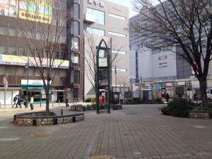 西宮北口駅前公園ハルヒの時計塔