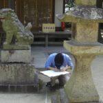 調査団 生瀬調査チーム・140702・生瀬皇太神社