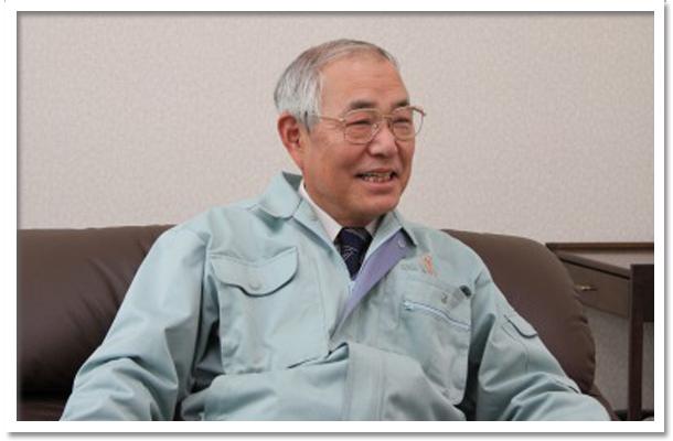代表取締役社長 宮内寿一さん