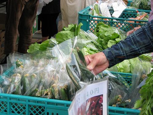 うれしいね!定期的に野菜市が始まるよ!!