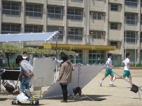某金融機関のテレビCM 廃校となった高須東小学校