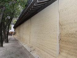 西宮神社 大練り塀
