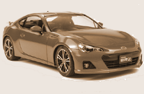 【終了】タミヤ1/24 スポーツカーシリーズ スバルBRZ