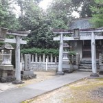 名来神社 火の神と水の神