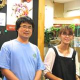 フラワーケンズ 社長の佐藤さんと店長の奥さん