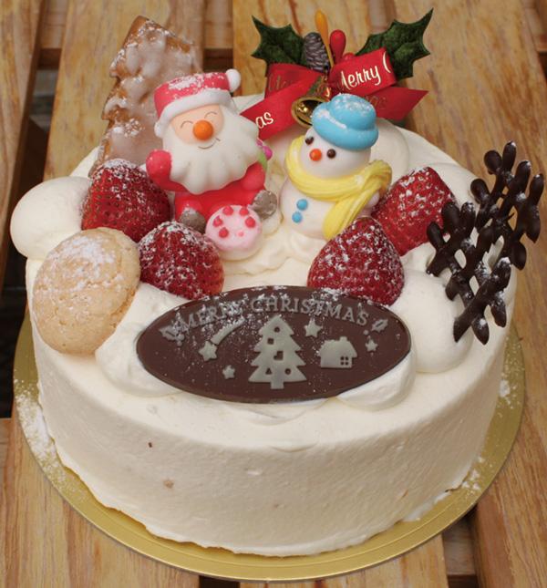 西北菓子工房シェ・イノウエ クリスマスケーキ