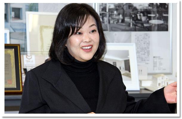 シンエイ代表取締役社長:増田あゆみ