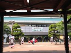 甲子園駅改修工事