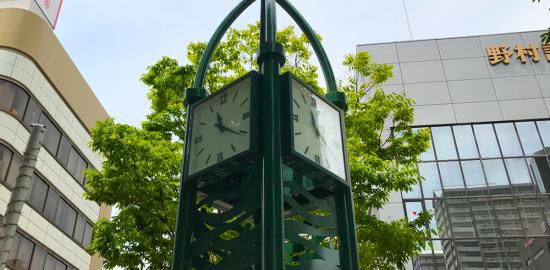 西宮北口 涼宮ハルヒの憂鬱 ファンの聖地 ハルヒ時計