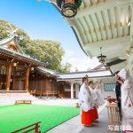 西宮神社の神前挙式