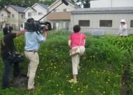 NHKのニュースKOBE発「兵庫ぶらり旅」の撮影 IN 山口町