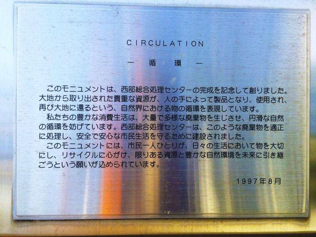 まちなかアート CIRCULATIONー循環ー