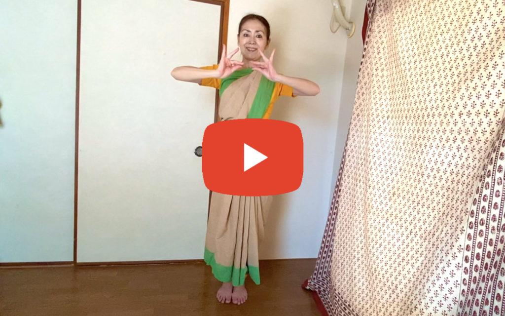 南インド古典舞踊 講師:モガリ真奈美