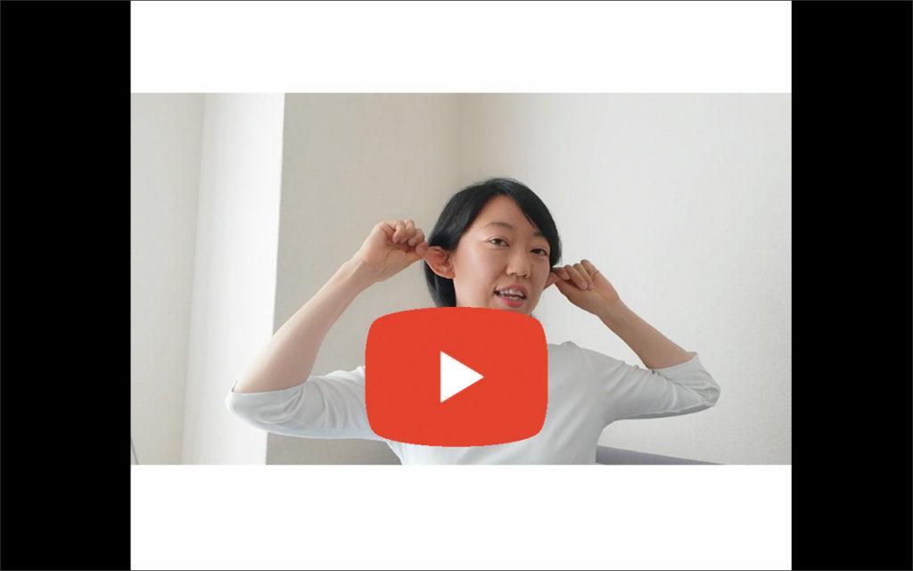 耳ヨガで眼と頭の疲れをゆるめませんか 講師 福崎 希美