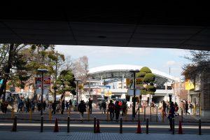 甲子園駅前