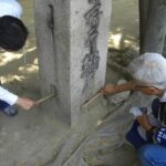 調査団 石造物班・120528・B松林地区