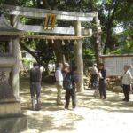 調査団 石造物班・160426・日野神社