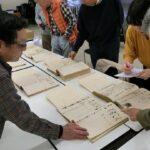 調査団 古文書班・161118・展示の準備