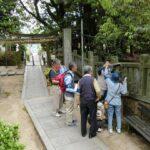 調査団 石造物班・180427・上ヶ原八幡神社