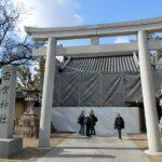 西宮神社赤門の修復