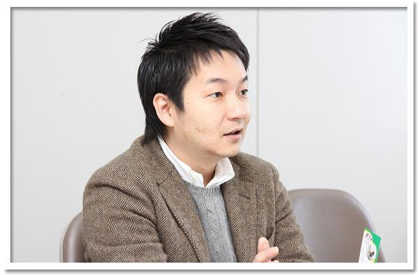 取締役の安田陽太さん