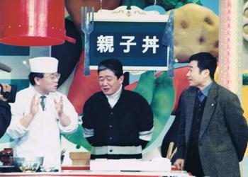「どっちの料理ショー」の一コマ