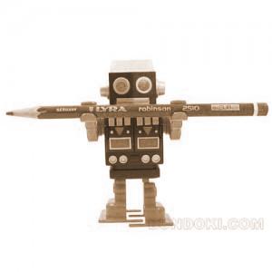 分度器ドットコムさんより、かわいいロボットの鉛筆削りを一名様にプレゼント終了