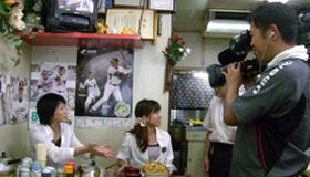 NHKのニュースKOBE発内の「兵庫ぶらり旅」で甲子園球場近辺が撮影されました。