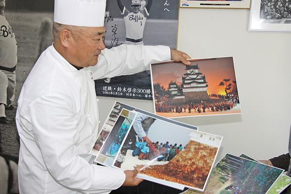 ケーキハウス・ツマガリの社長の津曲孝さん