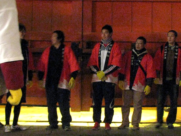2012年開門神事・幅男選び