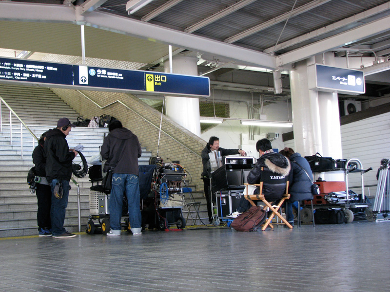 映画阪急電車勝地涼くんのシーンを撮影した西宮北口