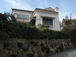 湯川英樹博士が住まれていた苦楽園の家