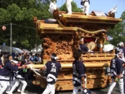 生瀬皇太神社 だんじり
