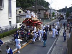 名塩八幡神社 だんじり