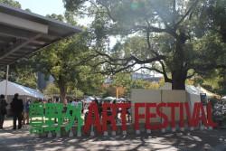 野外アートフェスティバル