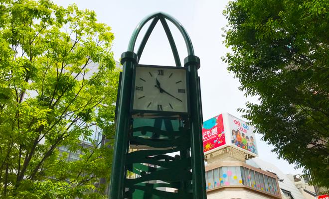 涼宮ハルヒの憂鬱 聖地 西宮北口公園 ハルヒ時計