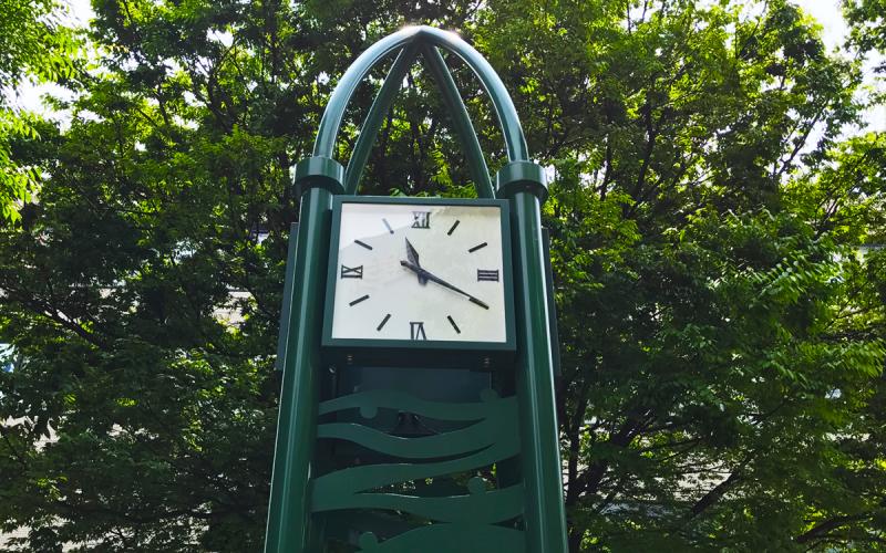 涼宮ハルヒの憂鬱 エンドレスエイト 北口公園の時計