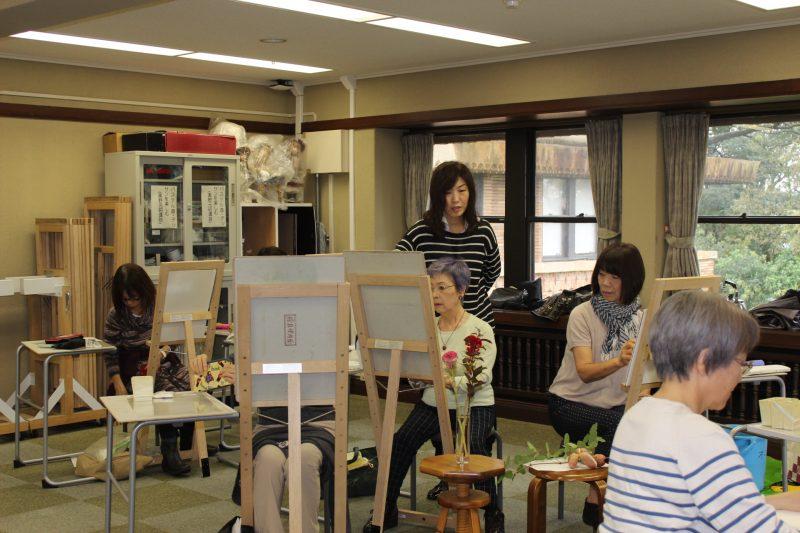 武庫川女子大オープンキャンパス