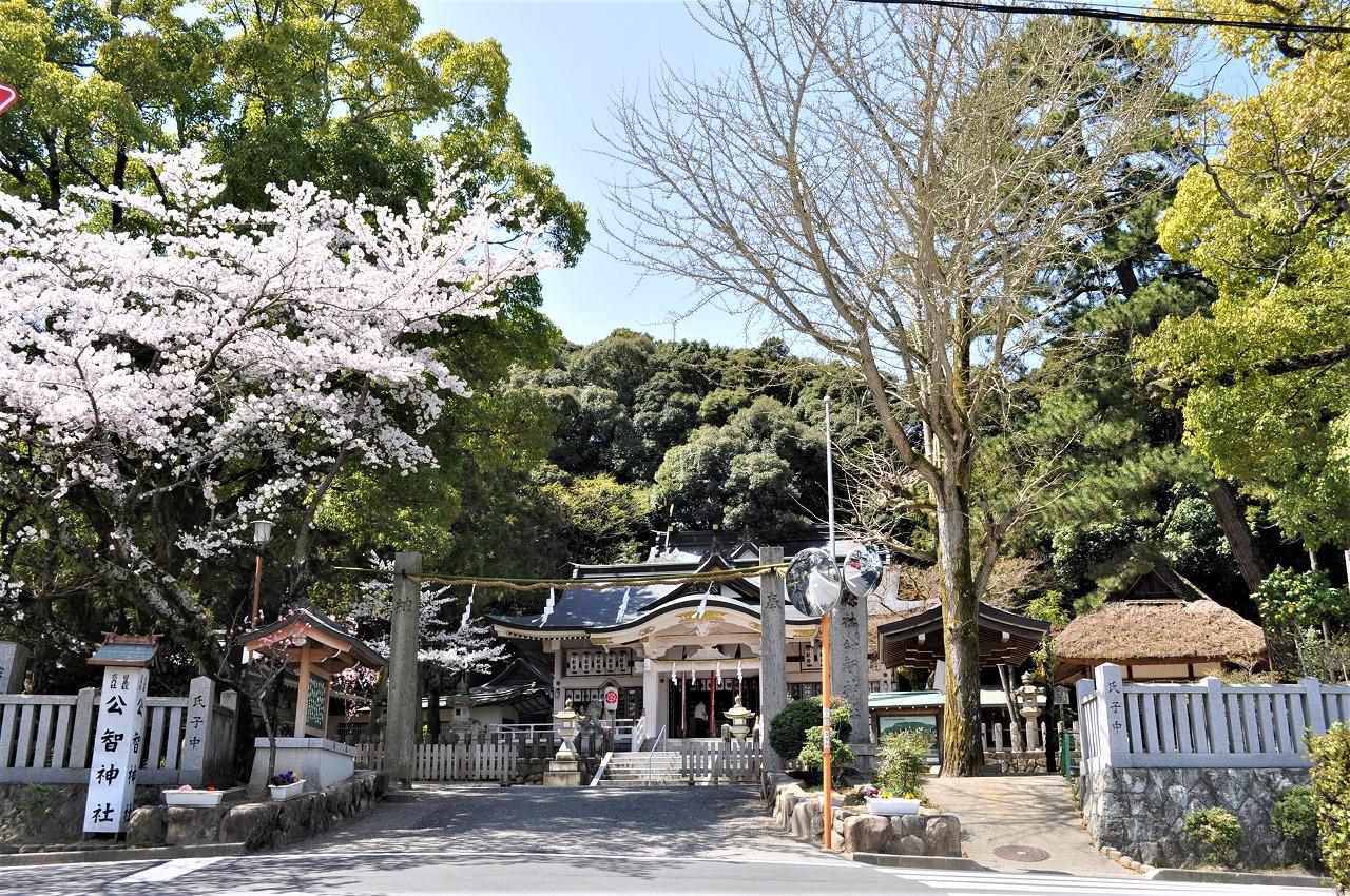 桜 公智神社