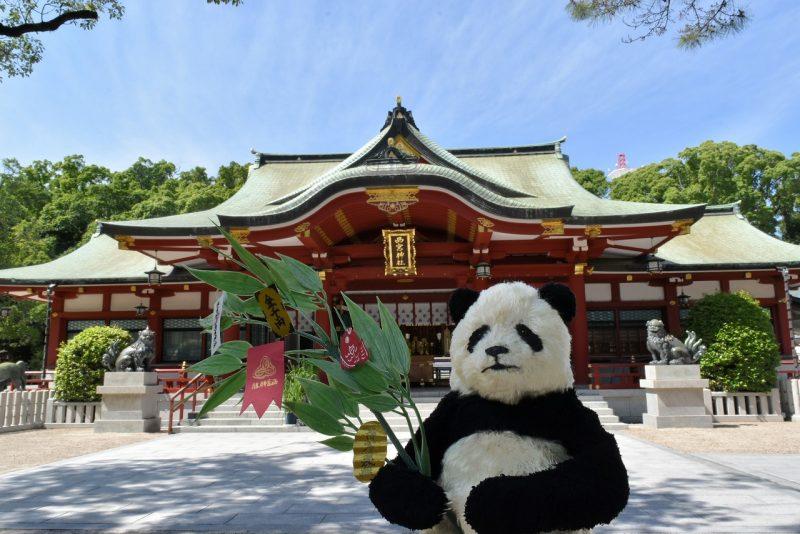 パンダのいる西宮展