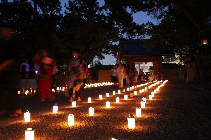 西宮神社 万灯篭