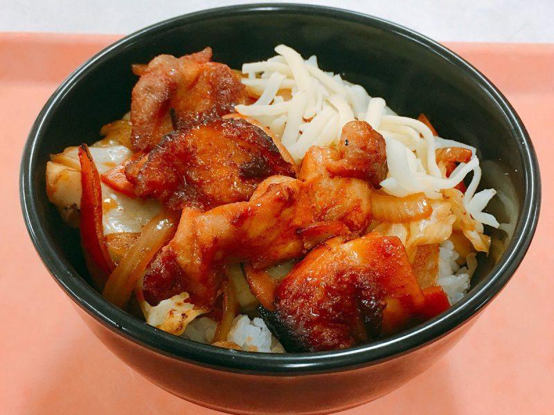 韓国風おろいち野菜のチーズダッカルビ丼