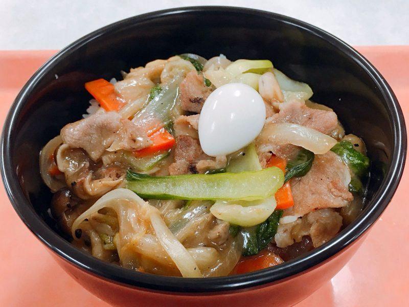 おろいち野菜たっぷりの中華丼