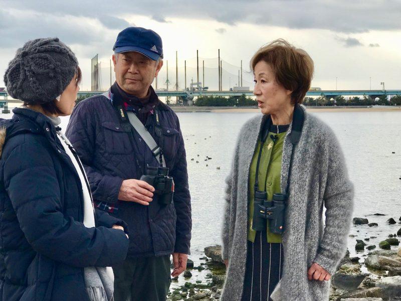 甲子園浜の環境を守る活動をされているNPO法人