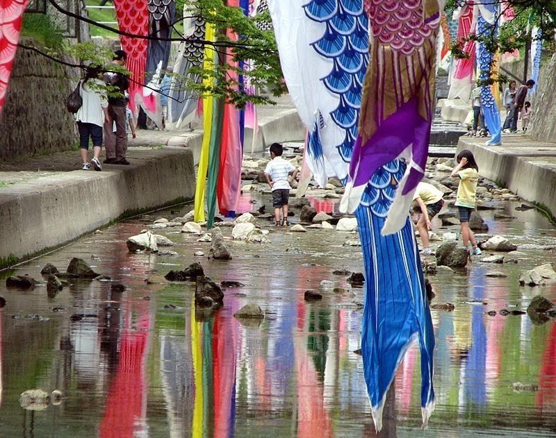 夙川 鯉のぼり