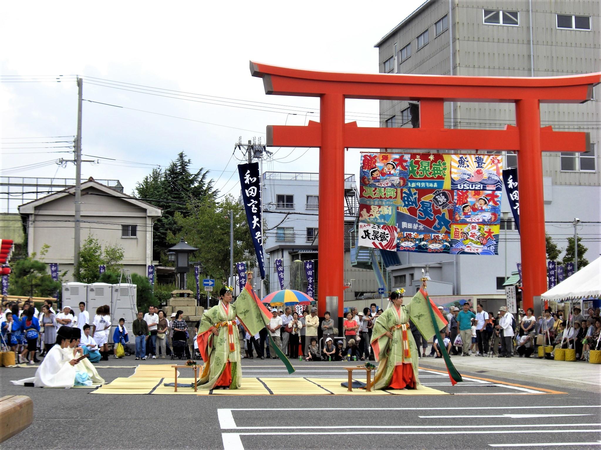 和田神社 御旅所祭り