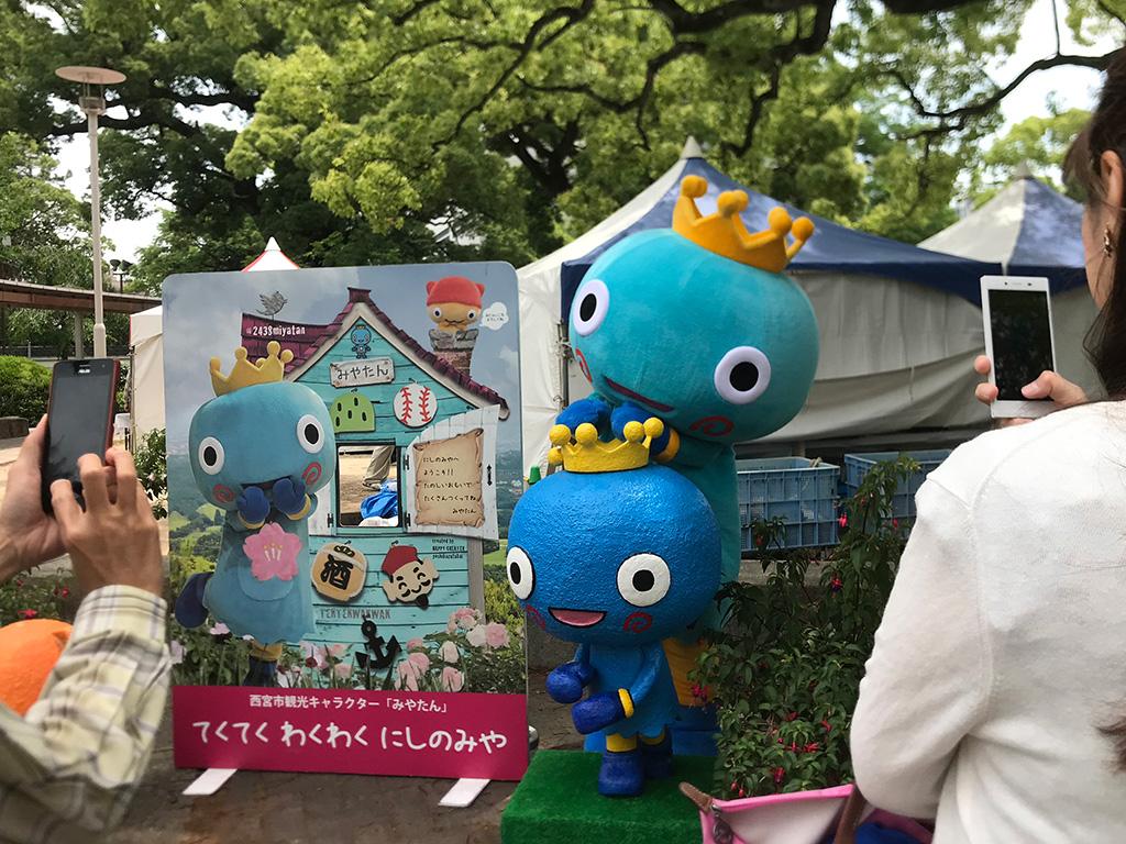 みやたん (フラワーフェスティバル で)